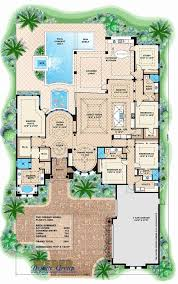 U Shaped Mediterranean House Plans New Eplans New American House