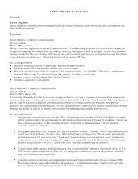 Job Objectives Resume Objective For Resume General Job Resume ...