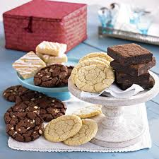 brownie and cookie gift basket