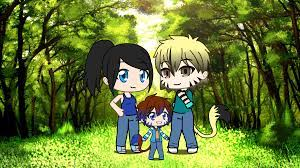 Jay/Nya kid x Cole kid Next Gen (Sapphire and Johnny) : Ninjago