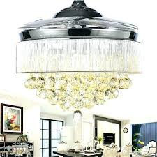 ceiling fan chandelier chandeliers with light and combination crystal combo decorating cookies fondant l