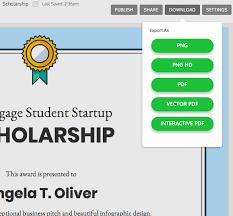 Venngage The Online Certificate Maker