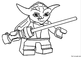 Small Picture Printable Coloring Pages Of Yoda Coloring Pages