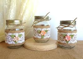 Decorating With Mason Jars And Burlap Mason Jar Burlap bazaraurorita 61