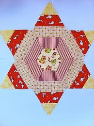 46 best 60 degree ruler patterns images on Pinterest | Appliques ... & I so want to play with a 60 degree ruler.fun block from Sarah Fielke's book  Quilting from little things Adamdwight.com