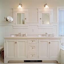 white bathroom double vanity. Interesting White Beadboard Bathroom White Double Vanity Cottage Style Bathroom Throughout White Bathroom Double Vanity E