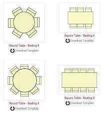 Round Table Seating Chart Table Seating Chart Templates Summit Seating Chart