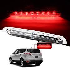 Change Brake Light 2014 Ford Escape Amazon Com Cciyu Led 3rd Brake Lights Cargo Lamp Assembly