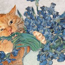 150 paintings and wrote a book fat cat art famous masterpieces improved by a ginger cat with attitude that appeared in english chinese and korean