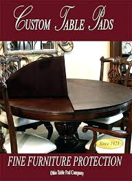 kitchen table protector murdowebsite table pads for dining tables table pad protectors for dining room tables