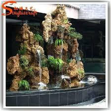 decorative water fountain impressive outdoor