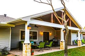 covered stamped concrete patio. Gabled Roof And Vaulted Ceiling Houston Patio Cover Covered Stamped Concrete