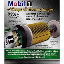Mobil 1 M1 113a Extended Performance Oil Filter Walmart Com