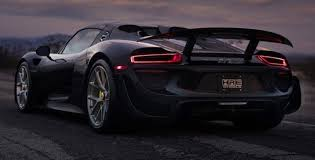 porsche 918 spyder black. black porsche 918 spyder weissach on hre p101 u003e constructeur supercharged luxury cars pinterest and e