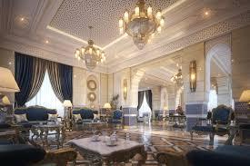 Moroccan Style Living Dining Room Model Turbosquid Beautiful Rooms Best Dining Room Interior Designs Model