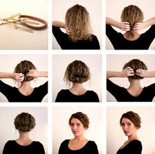 28 Génial Pictures De Chignon Facile Cheveux Mi Long A Faire