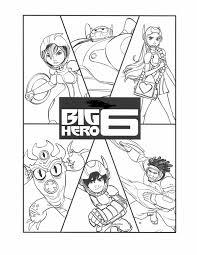 Big Hero 6 Kleurplaat 20