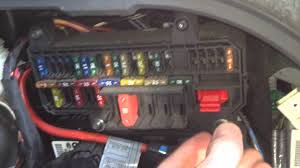 bmw e65 e66 fuse box locations chart diagram