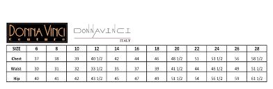 Donna Vinci Size Chart Donna Vinci Skirt Suit 11795