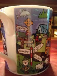 Small Picture Ireland Shamrock Gift Co Dublin Ireland Ceramic Mug