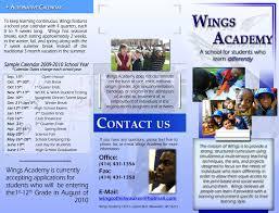 School Brochure Designs Barca Fontanacountryinn Com