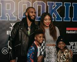 Chris paul was still so angry after the game, multiple individuals said, because a member of rajon rondo's family made inappropriate comments to paul's wife, jada, in the stands after the altercation. Chris Paul Wife And Kids Are Keeping Fit During Home Quarantine