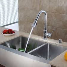 kraus khf203 36 kpf1650 ksd30ch 36 inch farmhouse double bowl stainless steel kitchen sink with chrome kitchen faucet and soap dispenser expressdecor com