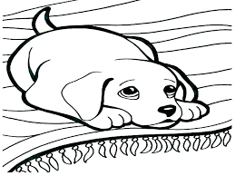 Dog Coloring Sheets Free Printable Cute Dog Coloring Pages Coloring