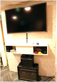 where to put cable box for wall mounted tv and cable box wall mount mount with