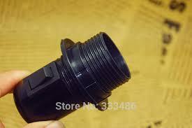 e27 ul bakelite lamp holder retro bulb lamp socket vintage edison push on switch pendant