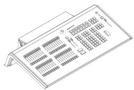 etc element 40 lighting control console dimmer board 250 ch