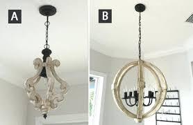 round wood chandelier distressed white wood chandelier wood beam chandelier diy