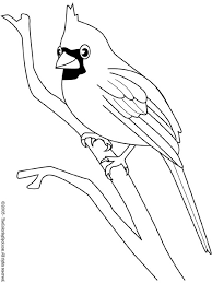 Small Picture Cardinal 2 Audio Stories for Kids Free Coloring Pages from