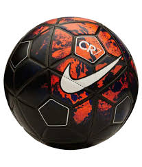 nike cr7 replica black football size 5