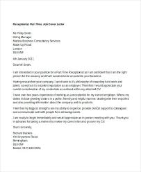 Employment Cover Letters Templates Employment Cover Letters