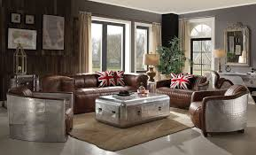 Top Grain Leather Living Room Set Top Grain Leather Living Room