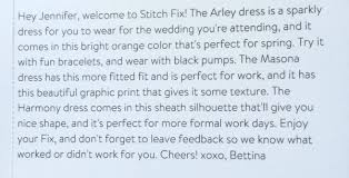 Stitch Fix Notes April 2015 Stitch Fix Personal Styling Subscription Box