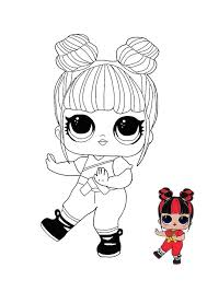 Lol surprise dolls, blind bag toys, hairdorables, hot new toys for kids. Lol Surprise Hairvibes Blackbelt Coloring Page Cute Coloring Pages Free Coloring Pages Unicorn Coloring Pages
