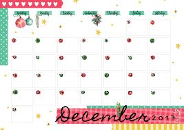 December 2017 Printable Colorful Calendar Free Download Colorful