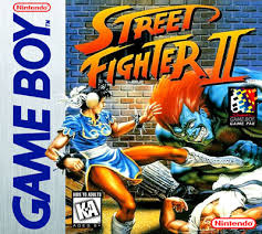 gameboy street fighter ii custom game case retro game cases