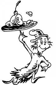 Small Picture The Cat In The Hat Coloring Pages Free Printable Coloring Pages