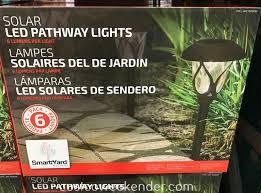 Alpan Solar Lights Sam S Club Alpan Smartyard Solar Led Pathway Lights 6 Pack Costco
