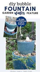 how to make a diy bubble fountain