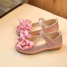 MUQGEW 2018 Children <b>Girl Shoes</b> Fashion <b>Princess Bowknot</b> ...