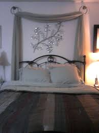 Curtains Above Bed Wall Drapes Fabric Canopy Bedroom Blackout Best ...