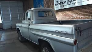 BARN FIND!! 1959 Chevrolet Apache Napco Half Ton ShortBed ...