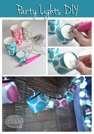 diy party lighting. DIY Party Lights. Grab A Few Packets Of Muffin Or Cupcake Holders \u0026 Your Diy Lighting