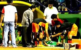 Internasional Liga Indonesia  - Mereka yang terbunuh di lapangan hijau. Siapa saja?