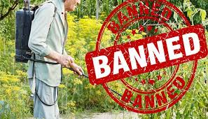 pesticides banned