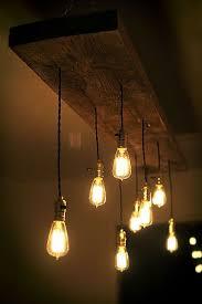 lighting hanging. edison bulbs are pinterestu0027s prettiest diy trend reclaimed lumber and light bulb lighting hanging b